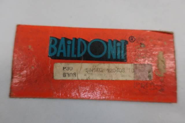 BOX OF 10 BAILDONIT SNMG 120408 CARBIDE INSERTS