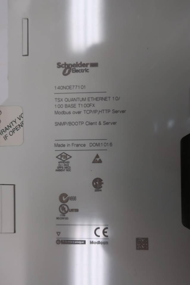 MODICON 140NOE77101 ETHERNET NETWORK TCP/IP MODULE