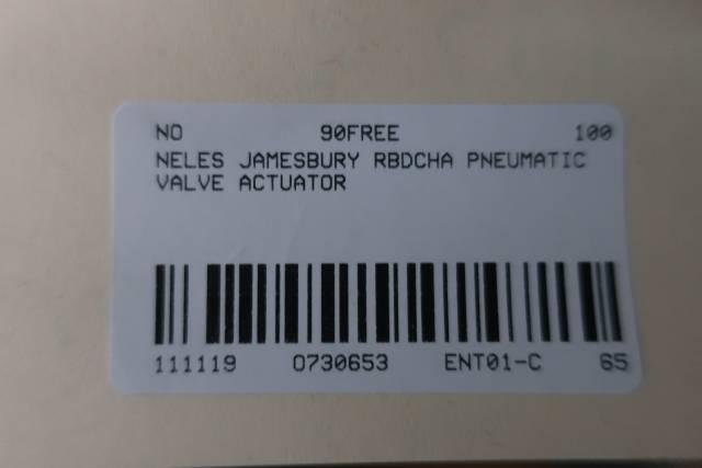 NELES JAMESBURY RBDCHA PNEUMATIC VALVE ACTUATOR