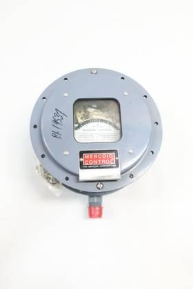 MERCOID PGW-153 1/2IN 1-5PSI 120/240V-AC 120/240V-DC PRESSURE SWITCH