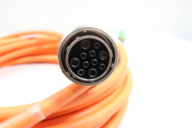 REXROTH IKG4070 11P STRAIGHT CONNECTOR CABLE 20M 600V-AC