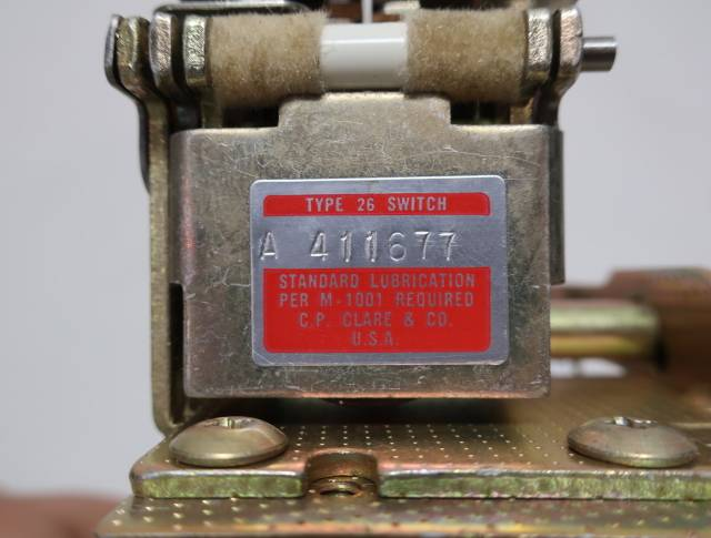 CP CLARE A 411677 TYPE 26 STEPPING ROTARY SWITCH