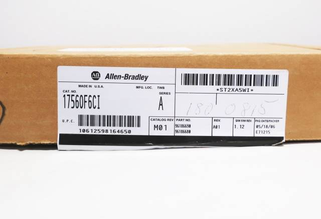 ALLEN BRADLEY 1756-OF6CI CONTROLLOGIX SER A ANALOG ISOLATED OUTPUT MODULE