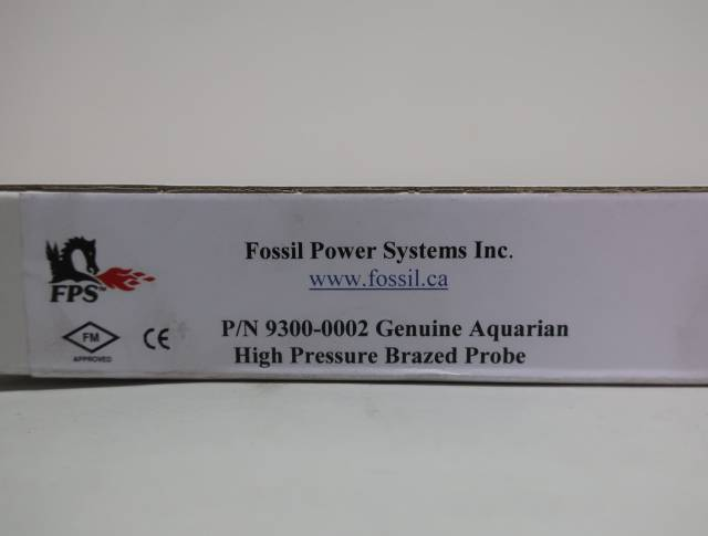 FOSSIL POWER SYSTEMS 9300-0002 AQUARIAN HIGH PRESSURE BRAZED PROBE SENSOR
