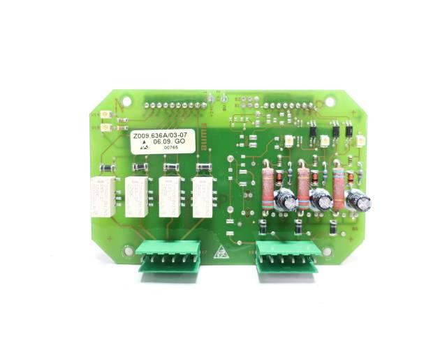 AUMA Z009.636A/03-07 INTERFACE PCB CIRCUIT BOARD R690645