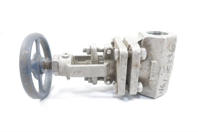 POWELL 2474A MANUAL 200 STAINLESS 1IN NPT GLOBE VALVE D660752