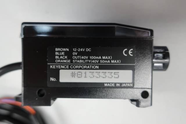 KEYENCE PS2-61 PHOTOELECTRIC SENSOR 12-24V-DC