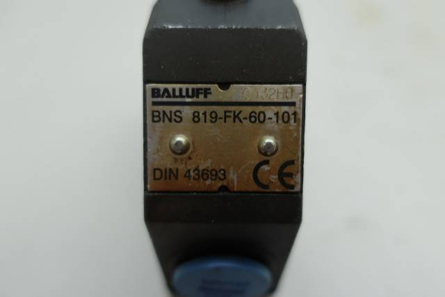 BALLUFF BNS 819-FK-60-101 MECHANICAL POSITION LIMIT SWITCH