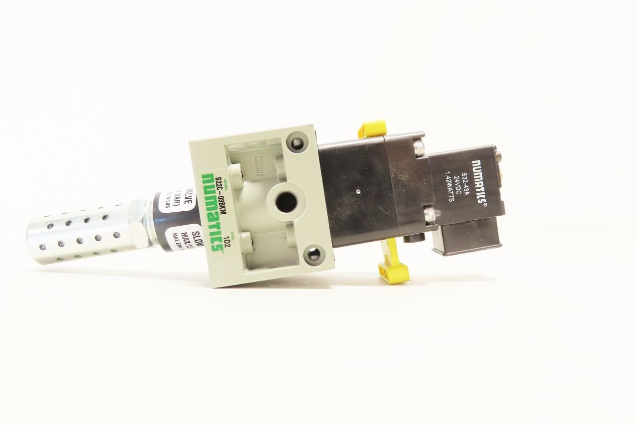 NUMATICS S22E-03BKN Exhaust Valve 3//8IN NPT