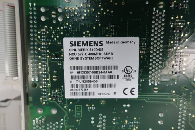 SIEMENS 6FC5357-0BB24-0AA0 SINUMERIK MODULE