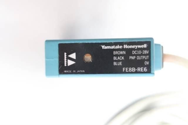 HONEYWELL FE8B-RE6 PHOTOELECTRIC SENSOR 10-28V-DC