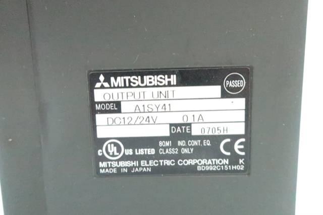 MITSUBISHI A1SY41 OUTPUT MODULE 12/24V-DC
