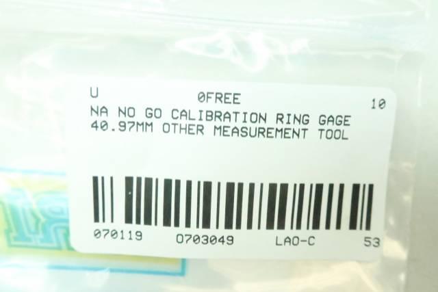 NO GO CALIBRATION RING 40.97MM