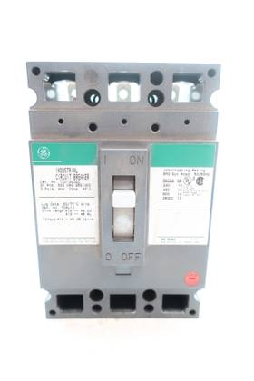 GENERAL ELECTRIC GE TED136020 3P 20A AMP 600V-AC MOLDED CASE CIRCUIT BREAKER