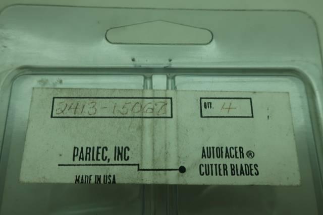 BOX OF 4 PARLEC 2413-15062 AUTOFACER CUTTER BLADES