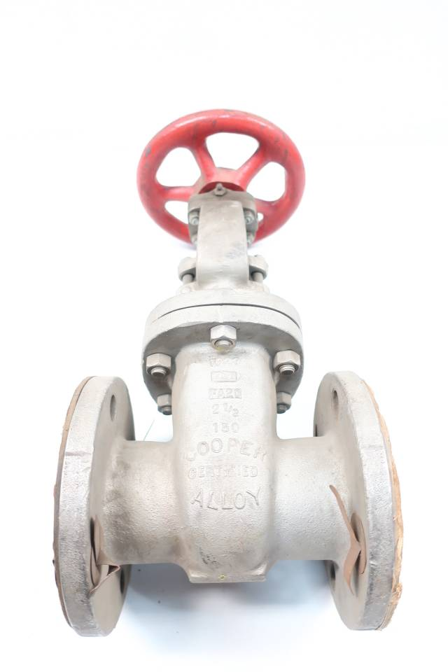 COOPER 1280 MANUAL 150 STAINLESS FLANGED GLOBE VALVE 2IN