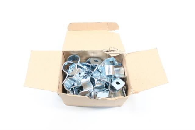 BOX OF 50 THOMAS&BETTS 4160-C EMT PIPE STRAP 3/4IN