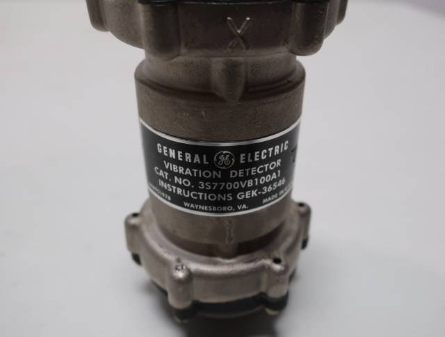 GENERAL ELECTRIC GE 3S7700VB100A1 VIBRATION SENSOR DETECTOR