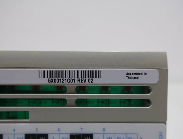 EMERSON 5X00121G01 OVATION 8 CHANNEL RTD INPUT MODULE R691680