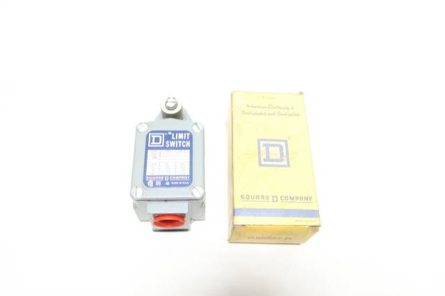 SQUARE D 9007TUA3 LIMIT SWITCH 600V-AC SER B