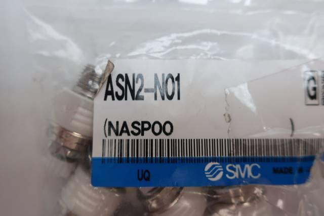 BAG OF 6 SMC ASN2-N01 METERING VALVE W/ SILENCER 1/8IN NPT D660068