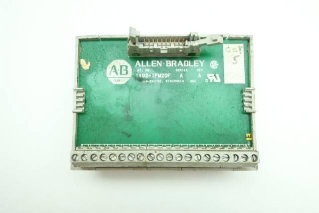 ALLEN BRADLEY 1492-IFM20F INTERFACE MODULE REV A SER A