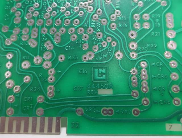 LEEDS NORTHRUP 144508 444508 PCB CIRCUIT BOARD R690920