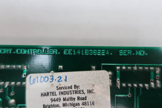 CUPROC EE141B3822A PCB CIRCUIT BOARD D654486