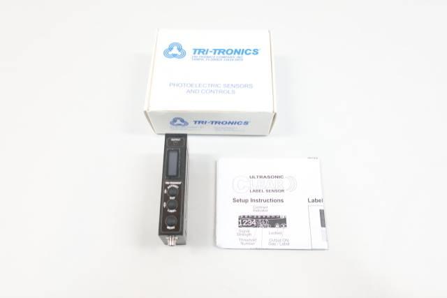 TRI-TRONICS CLSC-1M8LE CLEAR LABEL SENSOR 12-30V-DC