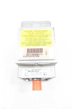INVENSYS MP-361-0-0-2 28W 24V-AC ELECTRIC VALVE ACTUATOR