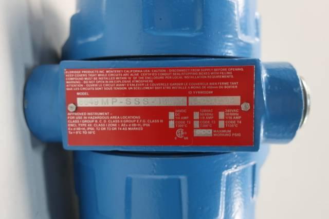 EPI 8649MP-SSS-133-DC24-AIR FLOW TRANSMITTER 0-5.5SCFM D660690