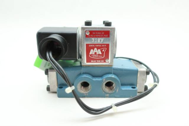 AAA PRODUCTS 319V SOLENOID VALVE 120V-AC 1/4IN NPT D653325