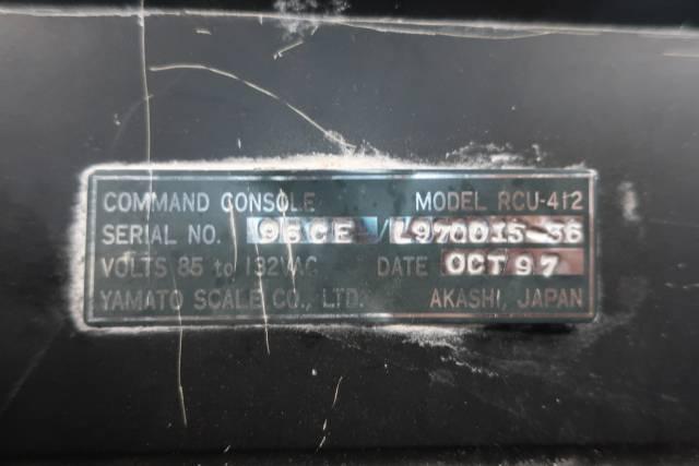 YAMATO RCU-412 COMMAND CONSOLE 85-132V-AC