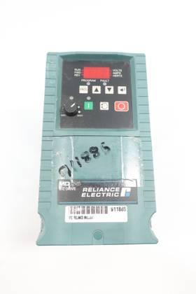 RELIANCE ELECTRIC 6MB20001 200-240V-AC 0-400HZ 0-230V-AC 1HP AC VFD DRIVE