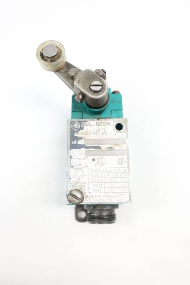 ALLEN BRADLEY LIMIT SWITCH 600V-AC