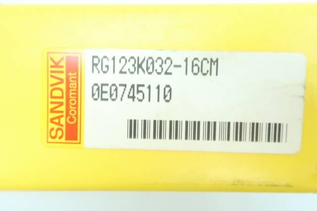 SANDVIK RG123K032-16CM TOOL HOLDER