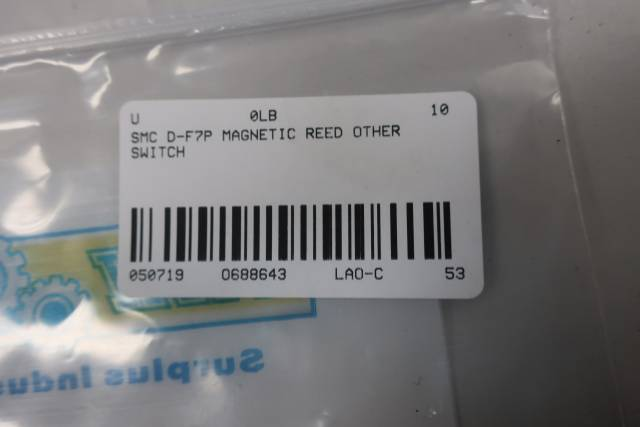 SMC D-F7P MAGNETIC REED SWITCH