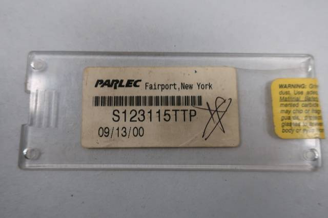 PACK OF 10 PARLEC S123115TTP CARBIDE INSERTS