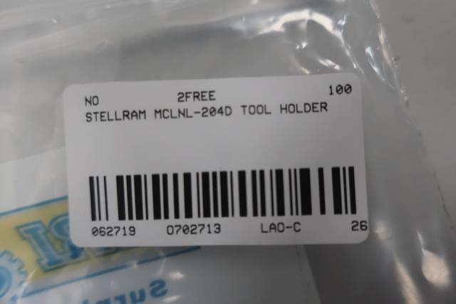 STELLRAM MCLNL-204D TOOL HOLDER
