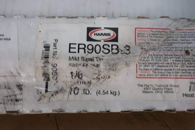 HARRIS 90SB360 ER90SB-3 1/8IN 36IN 10LB ELECTRODE D660833