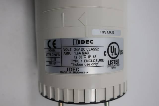 IDEC LT7B-D24FB STACK LIGHT BASE MODULE 24V-DC