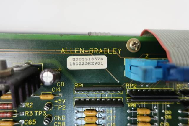 ALLEN BRADLEY 8520-MTB2 OPERATOR INTERFACE PANEL REV 01