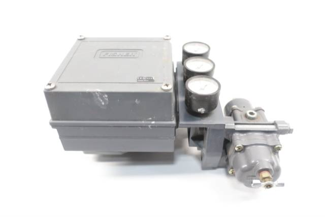 FISHER 3582G PNEUMATIC VALVE POSITIONER D649571