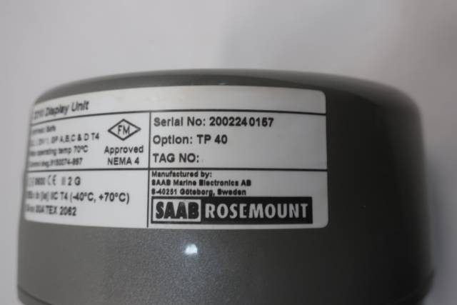 ROSEMOUNT 2210 TANKRADAR PRO DISPLAY UNIT D660810
