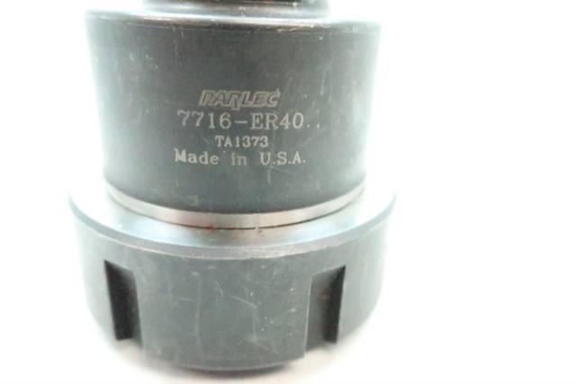 PARLEC 7716-ER40 COLLET TAP ADAPTER