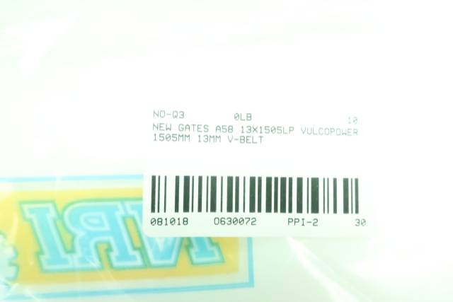 MEC A58 13X1475 VULCOPOWER 1475MM 13MM V-BELT D630072