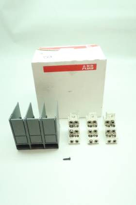 ABB KXT1MC-3PC FRONT TERMINAL KIT CIRCUIT BREAKER PARTS AND ACCESSORY