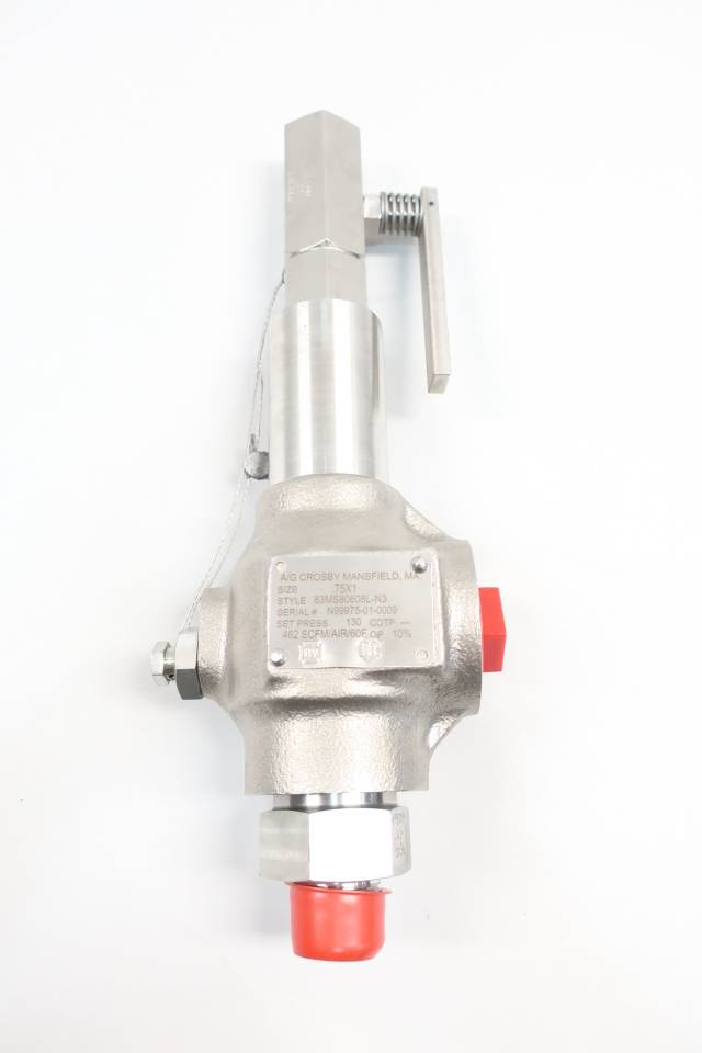 CROSBY 83MS80608L-N3 RELIEF VALVE 3/4IN X 1IN 130PSI