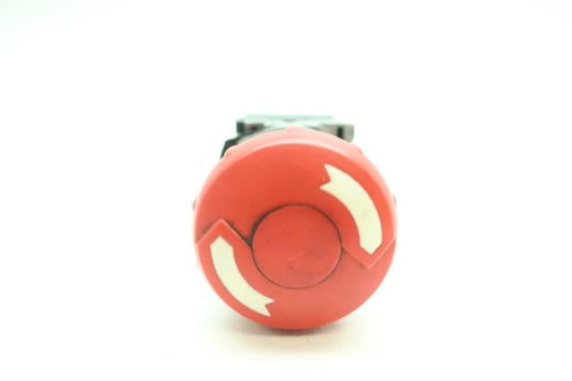 ALLEN BRADLEY 800F-X01 RED TWIST-LOCK PUSHBUTTON