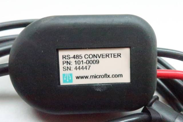 MICROFLEX 101-0009 RS-232 TO 2-WIRE RS-485 CONVERTER REV 2